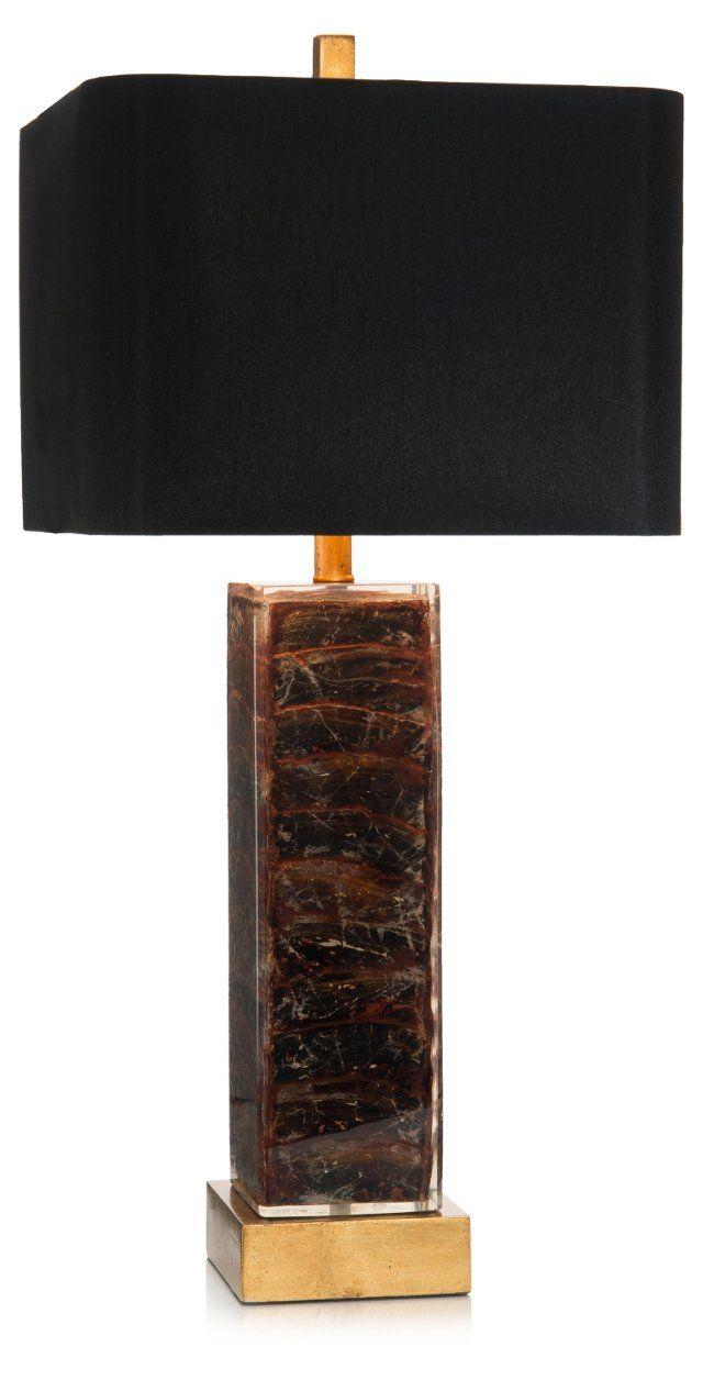 tortoise lighting. square table lamp, tortoise lighting
