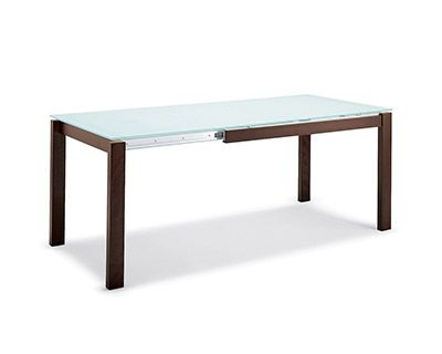 Tavolo Arrotolabile ~ Triad extension dining table in dining tables crate and barrel