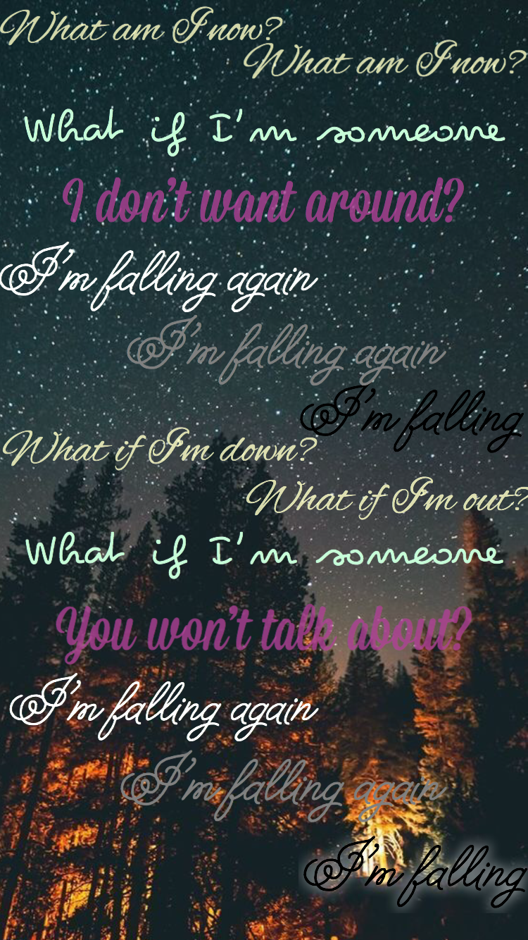 From Falling By Harry Styles Originally Made By Erin Mckenna In 2020 Style Lyrics Song Lyrics Wallpaper Harry Styles Wallpaper