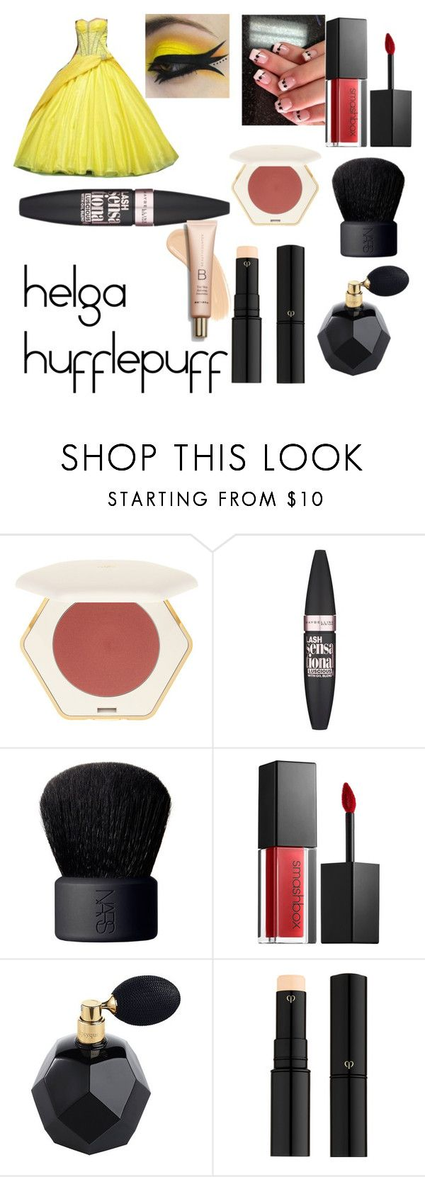 """""""hogwarts founder's {part4}"""" by palyser ❤ liked on Polyvore featuring Maybelline, NARS Cosmetics, Smashbox and Clé de Peau Beauté"""