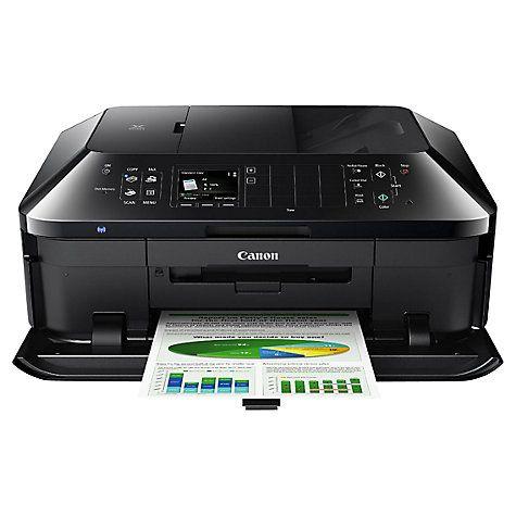 Canon Pixma Mx925 All In One Wireless Printer Fax Machine Black