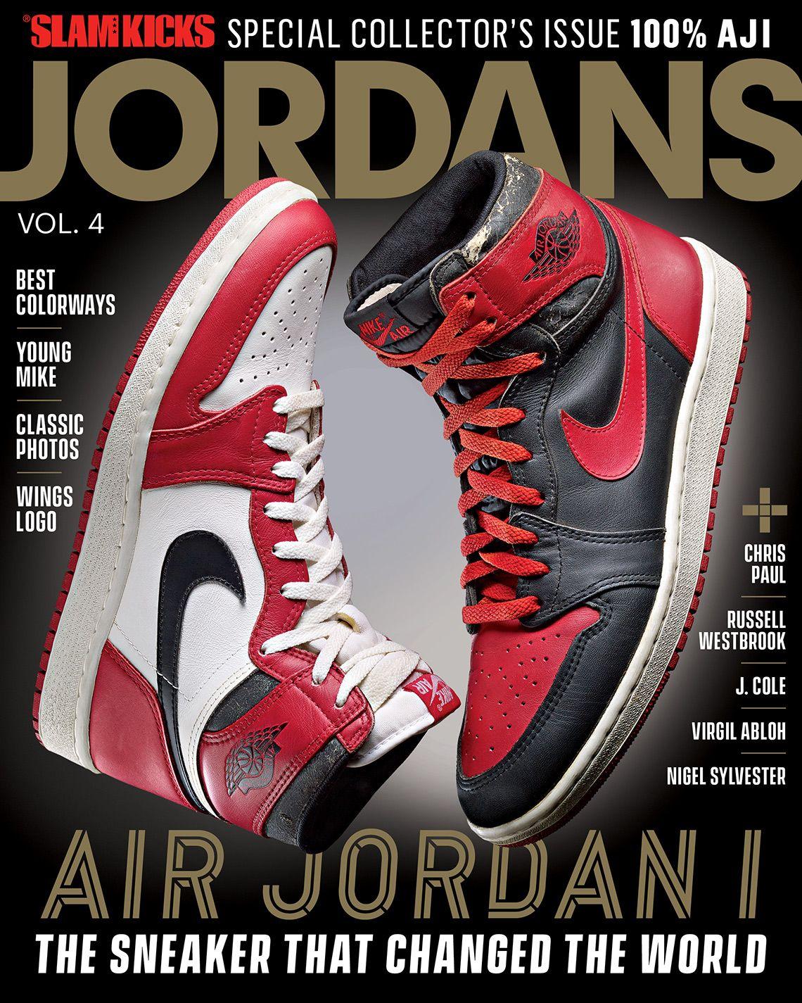 Slam Presents Jordan Vol 4 Dedicated To The Air Jordan 1 With