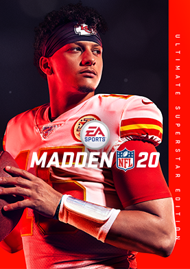 Patrick Mahomes Is The Madden Nfl 20 Cover Athlete Ea Official Site Madden Nfl Nfl Kansas City Chiefs Football