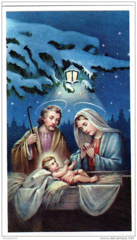 Santino Natività Sacra Famiglia Ed Eb 20125 Religion