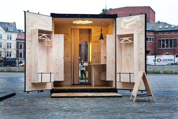 bruuns bazaar pop up kiosk detours 2011 arquitectura. Black Bedroom Furniture Sets. Home Design Ideas