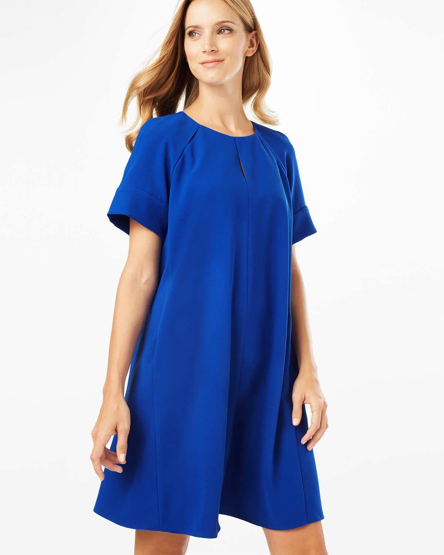 Phase eight zoe swing dress blue blue bridesmaid dresses