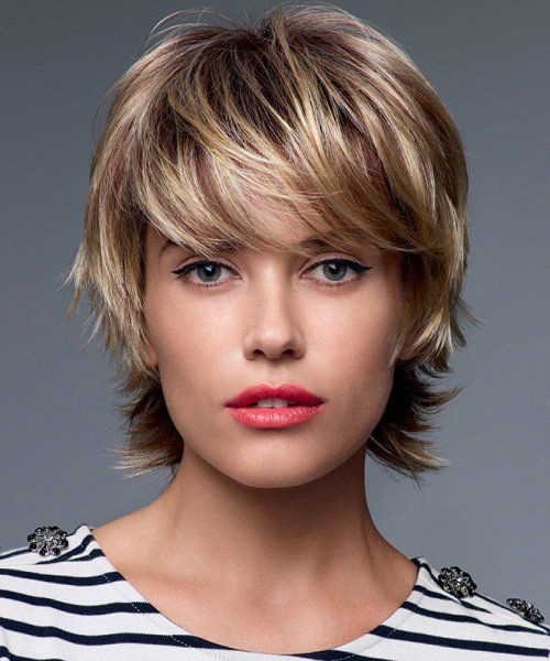 Photo of Short Pixie Brown Hairstyles for Girls 2019. #brownhair