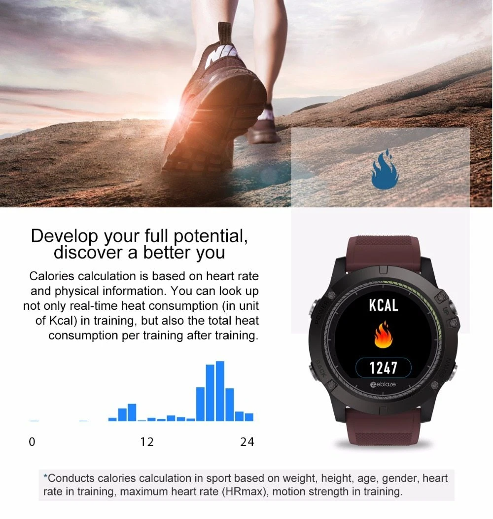 Tactical Smart Watch V3 Hr Tubias