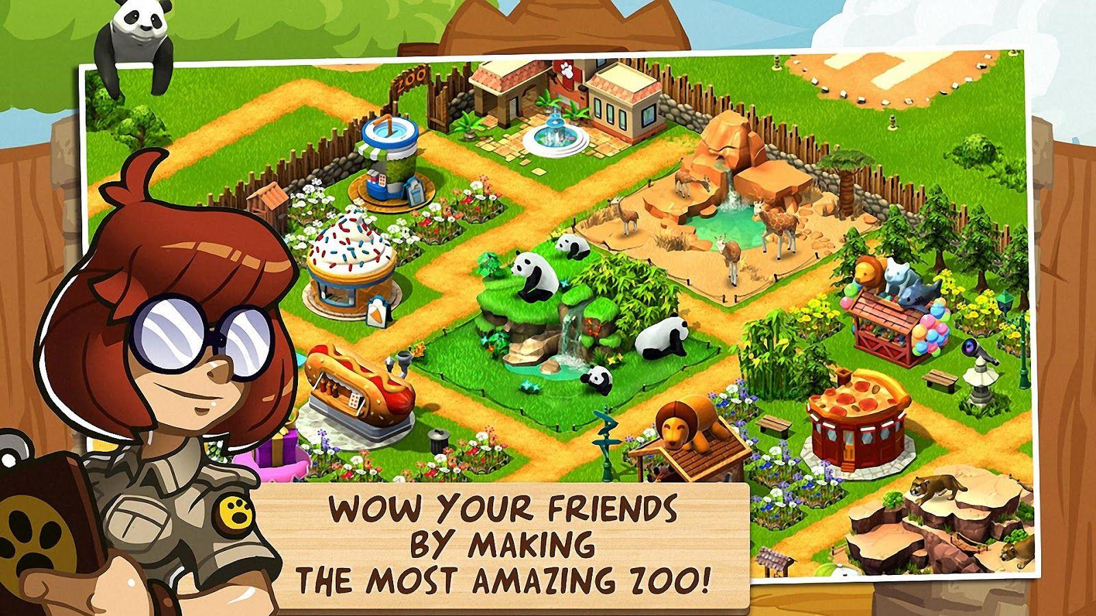safari zoo time app - Google Search   Learn   Wonder zoo, Games