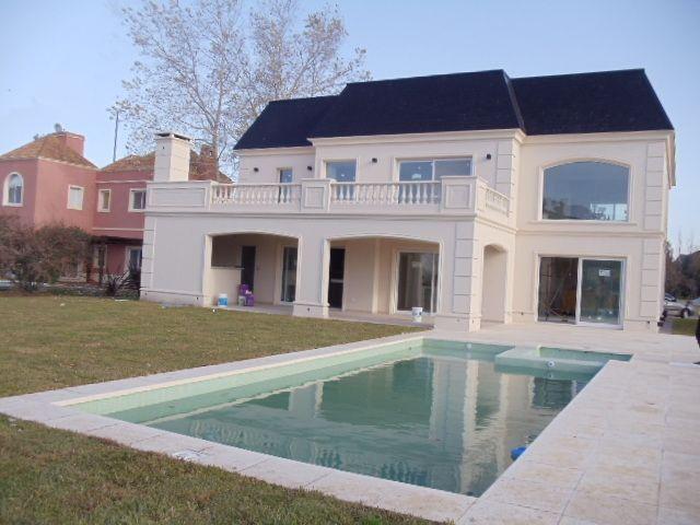 Imagenes de ba os estilo frances venta casa san vicente en for Fachadas de casas estilo clasico