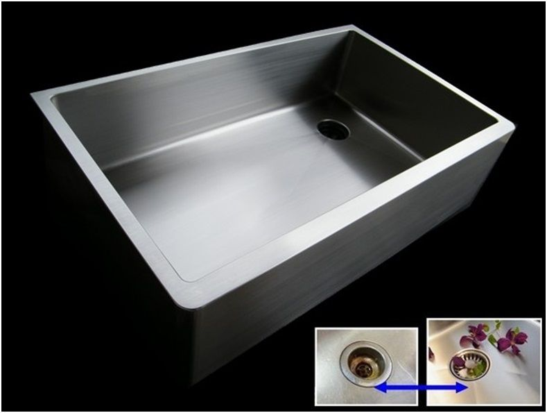 All Custom Kitchen Sinks Are Seamless  No Drain Seam