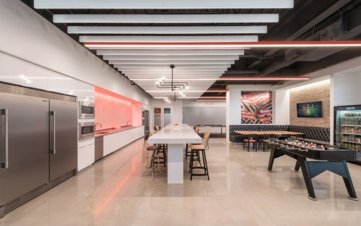 Cisco offices by FOX Architects Fulton Maryland Retail Design