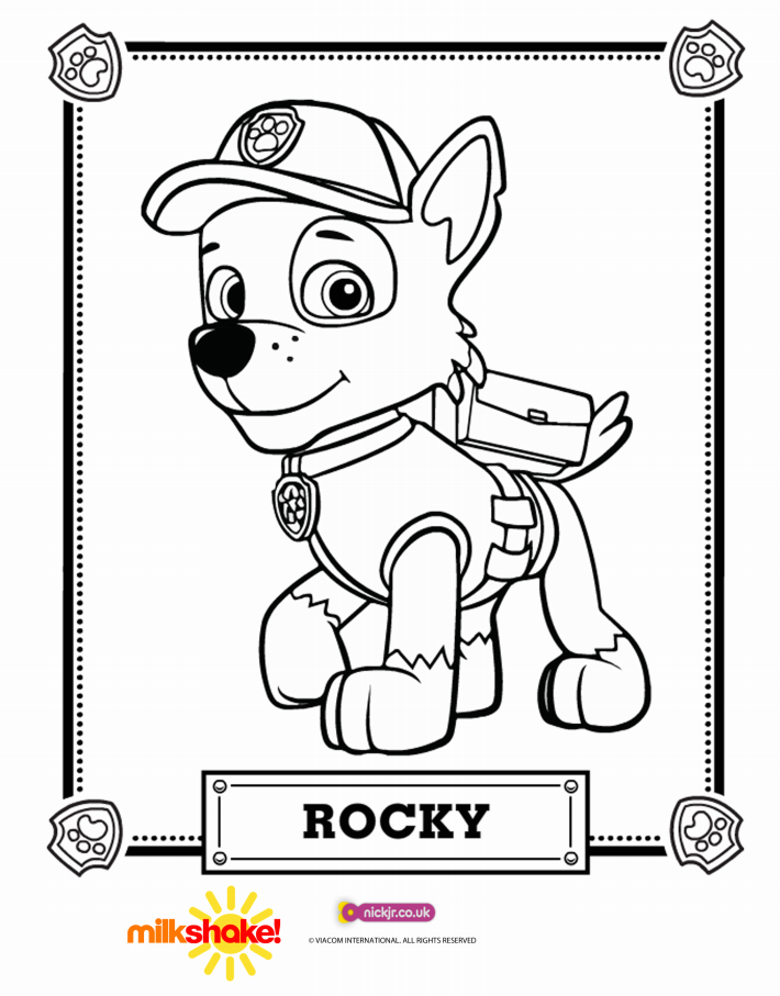 Increíble Nick Jr Coloring Pages Pata Patrulla Ideas - Ideas Para ...