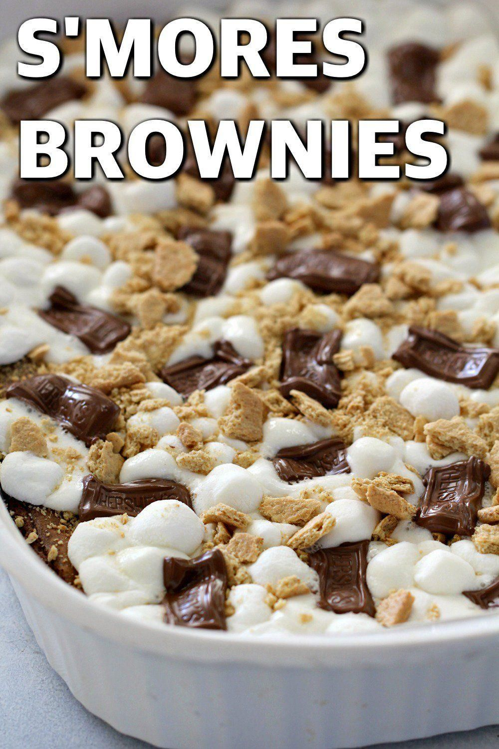Homemade S'mores Brownies - Bouffe -