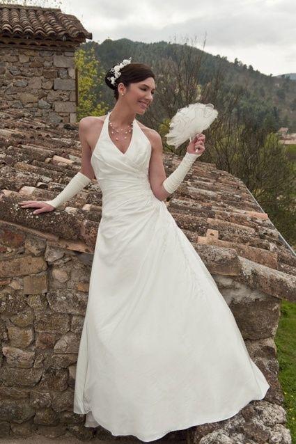 087983d64f1 Belle robe de mariée d occasion - Couleur ivoire - Taille 52