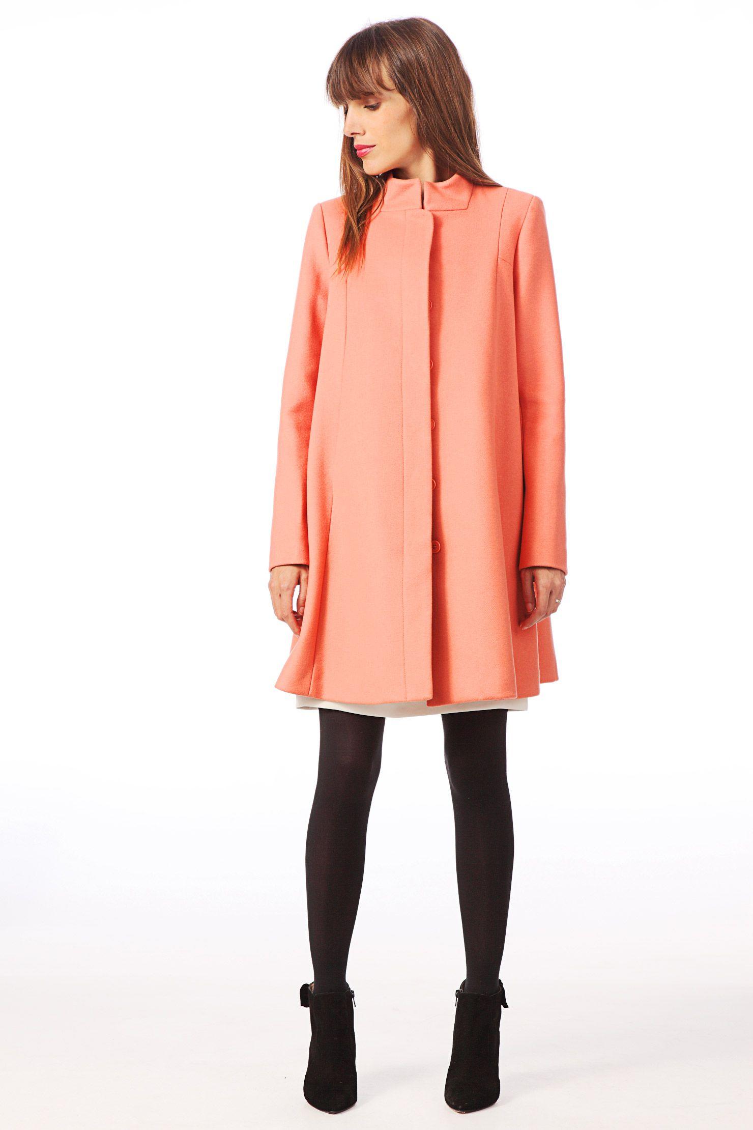 0f9b10135096 Manteau femme - Corail - TARA JARMON - Mode   Women s Fashion ...