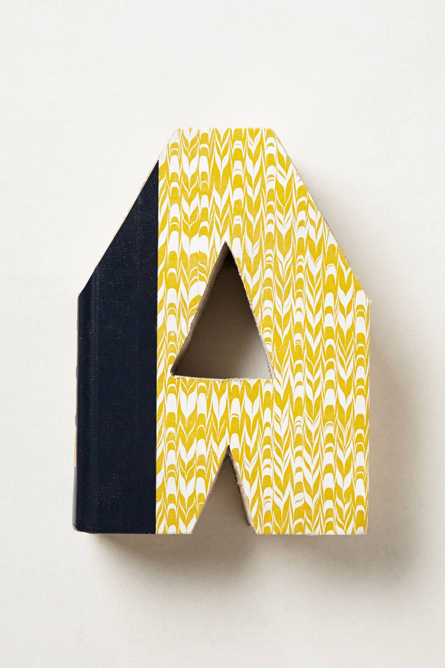 cool letters made out of old books | products i\'m eye-ing ...
