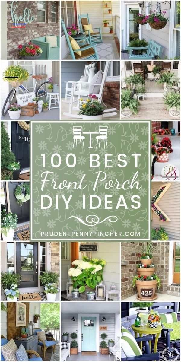 100 Best DIY Front Porch Decorating Ideas 100 Best DIY Front Porch Decorating Ideas 100 Best DIY Front Porch Decorating Ideas #frontporch #curbappeal #garden #planter #summer #spring #diy<br> From farmhouse styled porches to small front porches and porch ideas on a budget, there are front porch decorating projects for everyone.