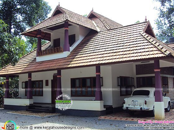 Work Completed Nalukettu House Kerala House Design Village House Design Kerala Traditional House