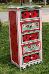 I could do this... maybe. Ladybug bedroom | For Lorelai | Pinterest ...