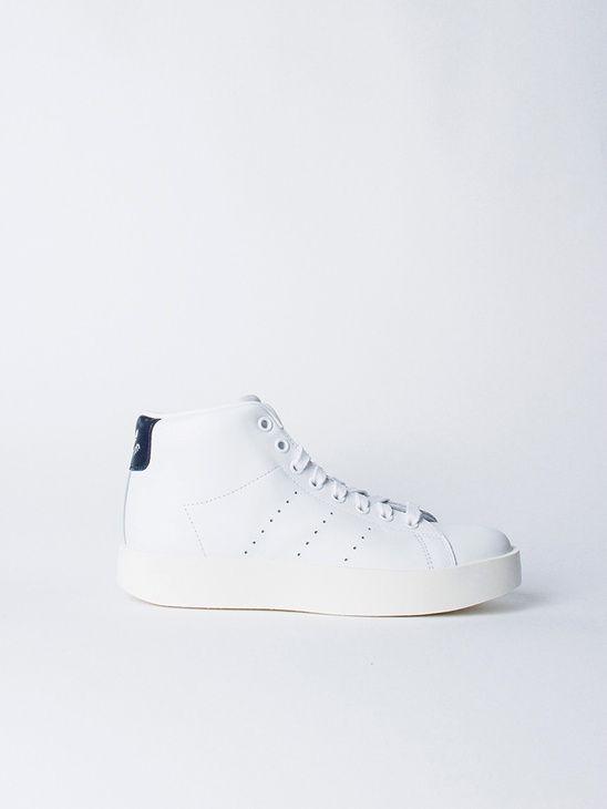 APLACE Stan Smith Bold Mid W Navy Adidas Originals | Stan