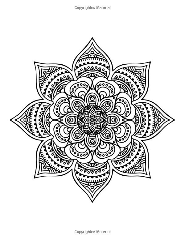 ≡ coloring page mandala | Ornaments | Pinterest | Mandala para ...