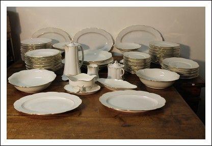 Servizio piatti da 12 rosenthal bavaria porcellana periodo for Servizio da the rosenthal