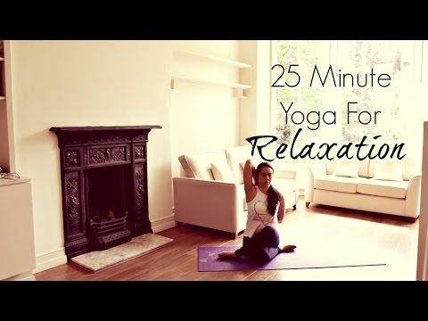 yoga for deep relaxation  chriskayoga  relaxing yoga