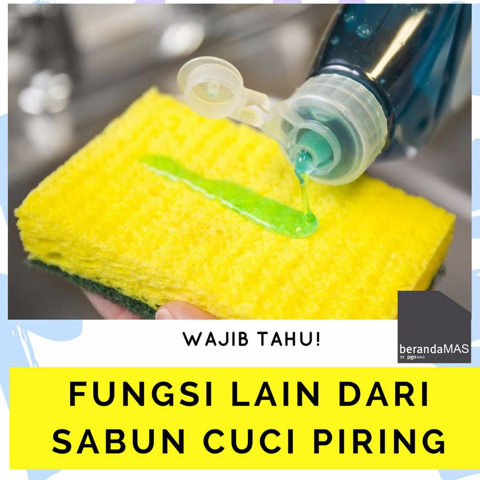 Selain Untuk Membersihkan Perlengkapan Makan Dari Noda Rupanya Juga Punya Fungsi Lain Lho Apa Saja Misalnya 1 Bersihkan Lantai Dapur Dan R Mandi
