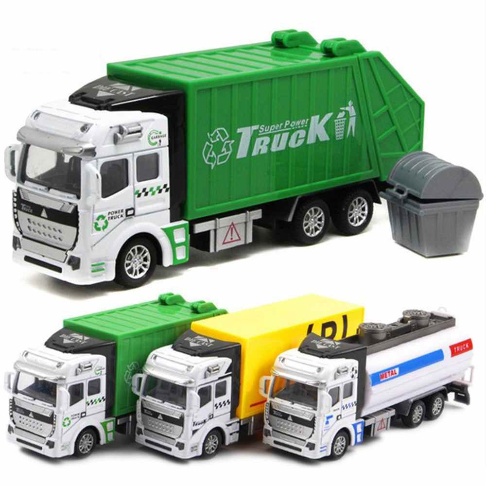 Toys car image  Click to Buy ucuc  Plastic Alloy Car engineering dumpers Truck