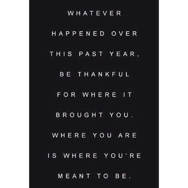 I am thankful for the lessons I've learned, and the roads I've travelled this year. 2014, you were too good to me 2015, I am ready for you #ByeFelicia  #NYE