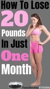Wie man 20 Pfund in einem Monat verliert  Es wird für Gesundheitsliebhaber immer beliebter, auf pfla...