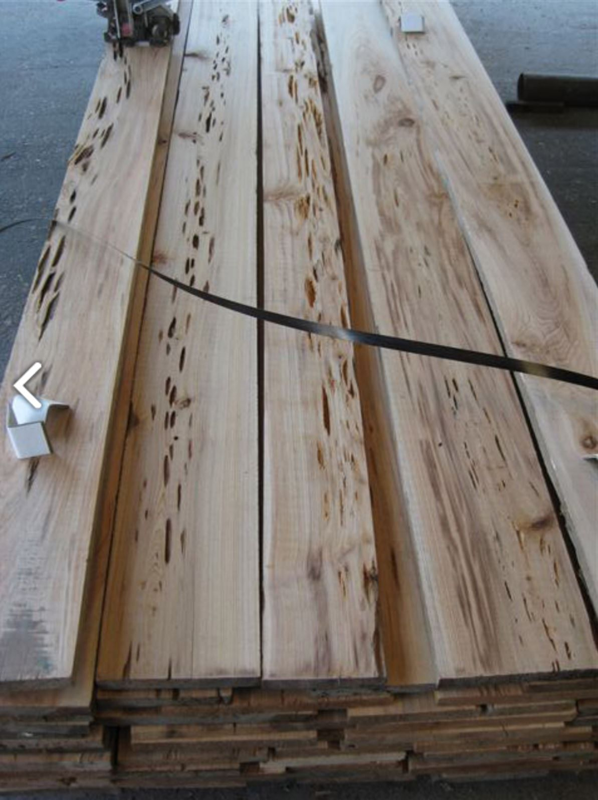 Pecky Cypress Surfaced Only With