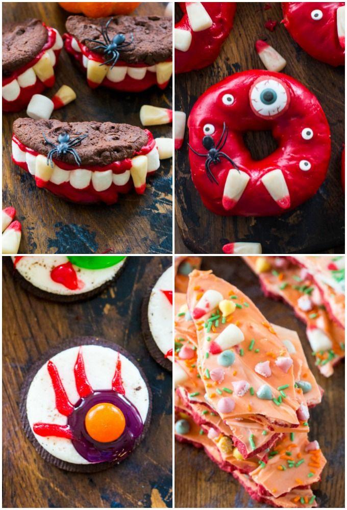 No Bake Halloween Treats Vampire Dentures Recipe Diy