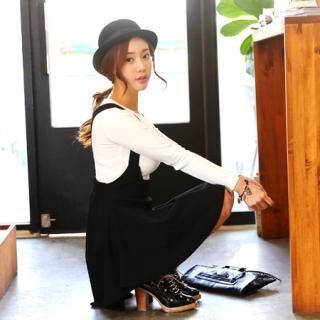 Buy 'it's girl – A-Line Jumper Skirt' with Free International Shipping at YesStyle.com. Browse and shop for thousands of Asian fashion items from South Korea and more!