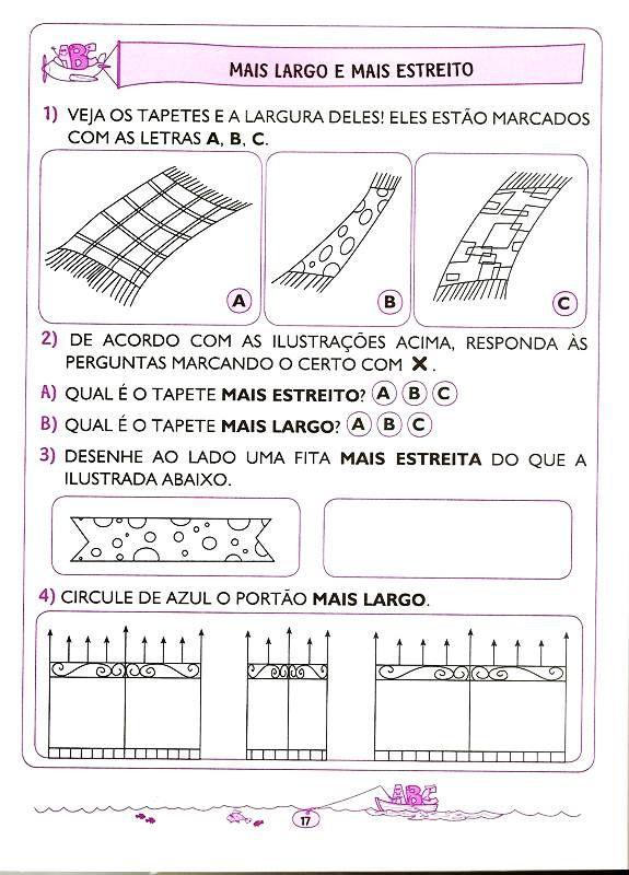 Matematica 5 E 6 Anos 9 Atividades De Matematica Atividades