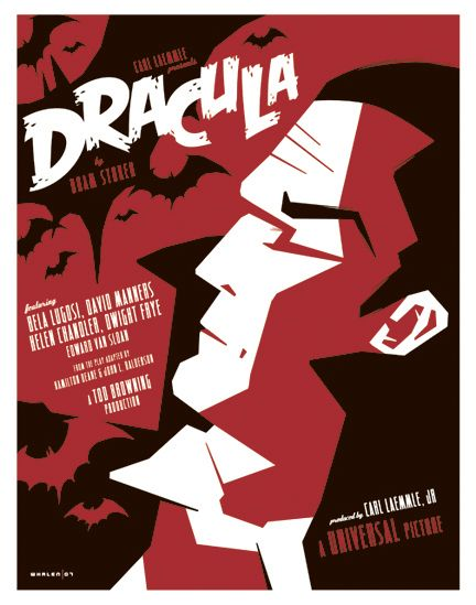 Movie Poster Of The Classic Dracula From A Series Of Monster Movie Posters Movie Poster Art Dracula Horror Movie Posters