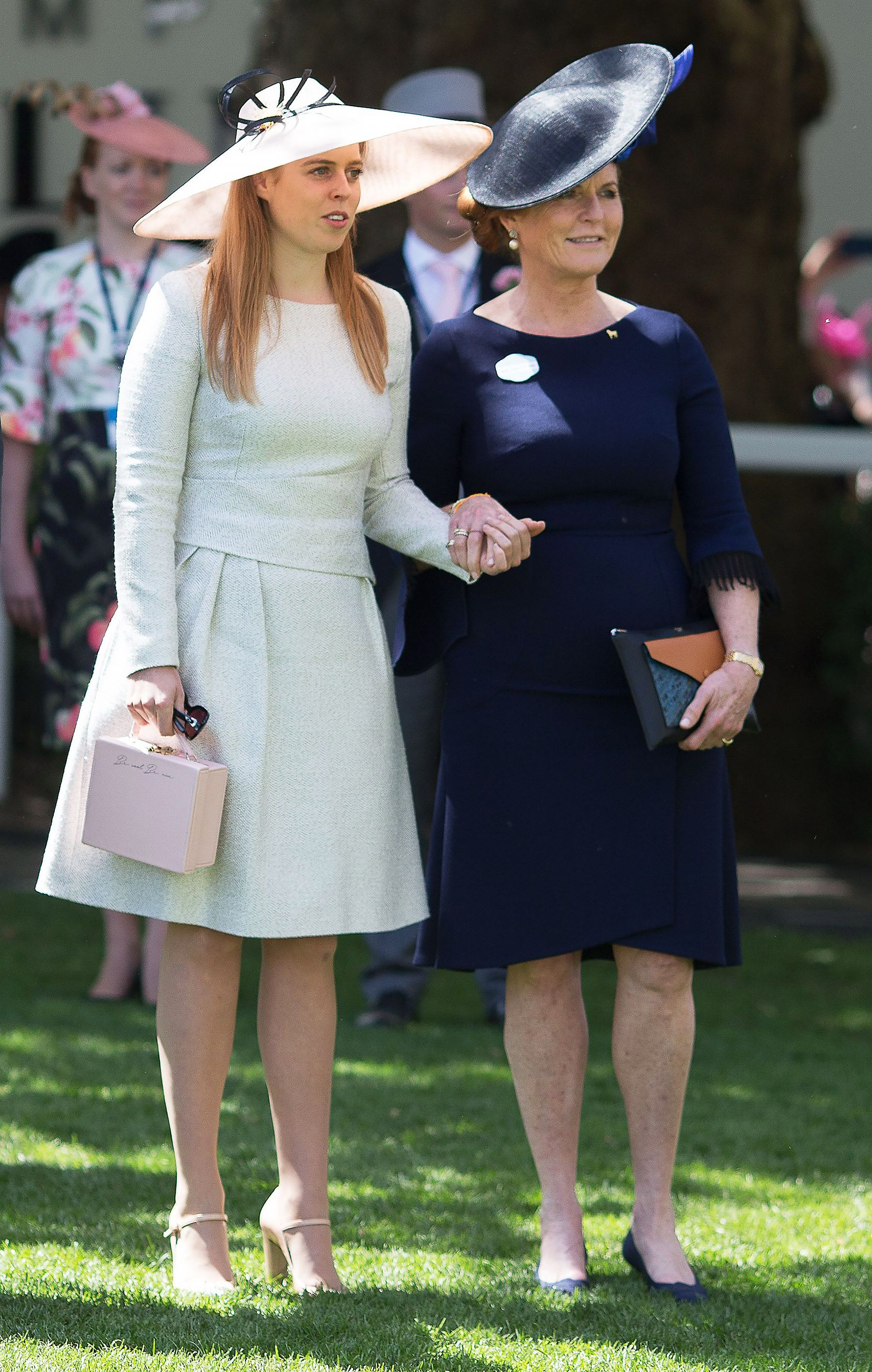 Fergie and the Queen! The RedHaired Duchess Lands a