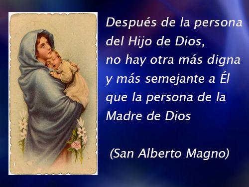 Después De Dios No Hay Nadie Como La Virgen Frases De