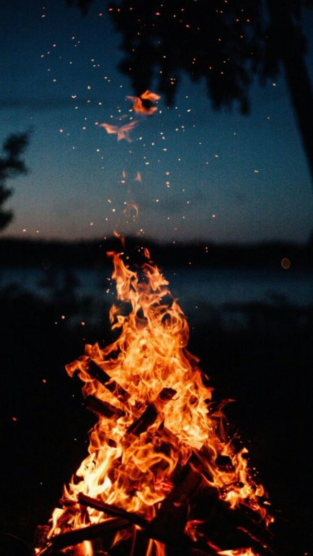 Manzara Fire Photography Dreamy Landscapes Aesthetic Iphone Wallpaper