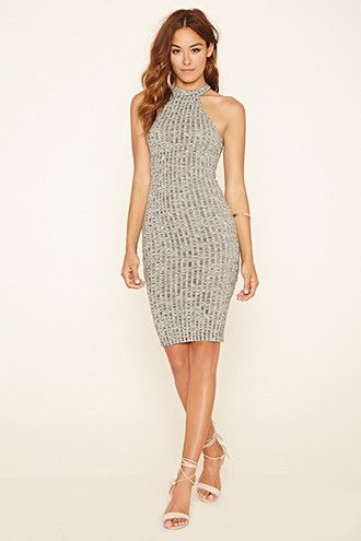Marled Knit Bodycon Dress | Forever 21 | Pinterest | Bodycon dress ...