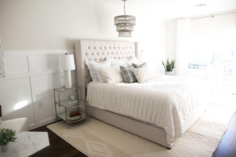 dream master bedroom%0A All White  Instagram Bedroom Makeover for Meghan Rienks
