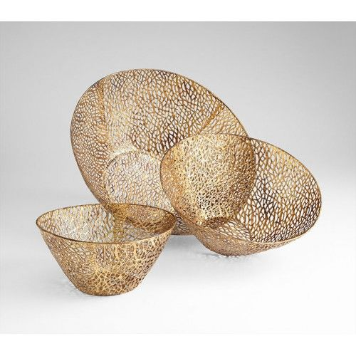 Contemporary Decorative Bowls Sydne Bowls  Set Of 3  Ships Free To North American Destinations