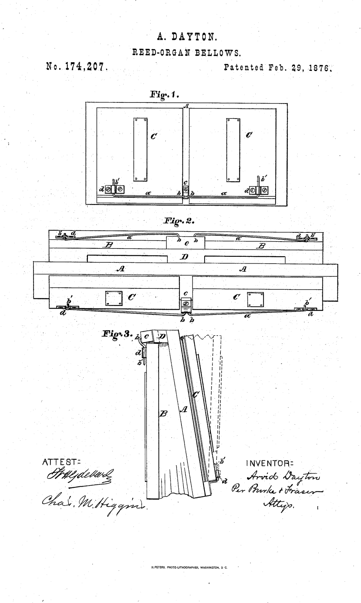 arvid dayton reed organ made in wolcottville torrington connecticut [ 1220 x 2036 Pixel ]