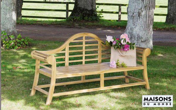 Banc de jardin | Banquette jardin, Mobilier jardin, Jardins