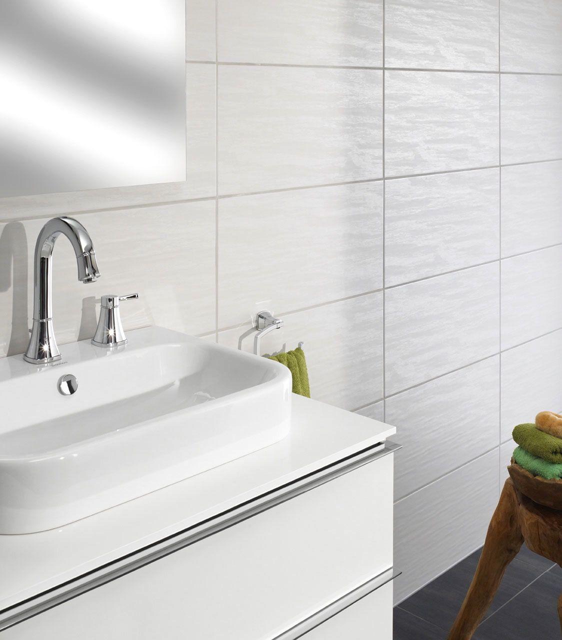 AuBergewohnlich Badezimmer Fliesen Weiß Matt | Badezimmer Kreativ Gestalten | Pinterest |  Bath, Basement And Construction.