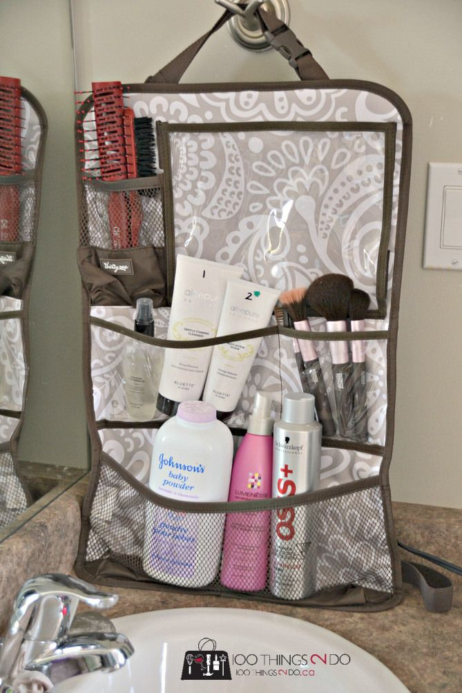 100 Ways to use the Thirty-One Functional Solutions - car organization kit.  Hang Up Utility Organizer.