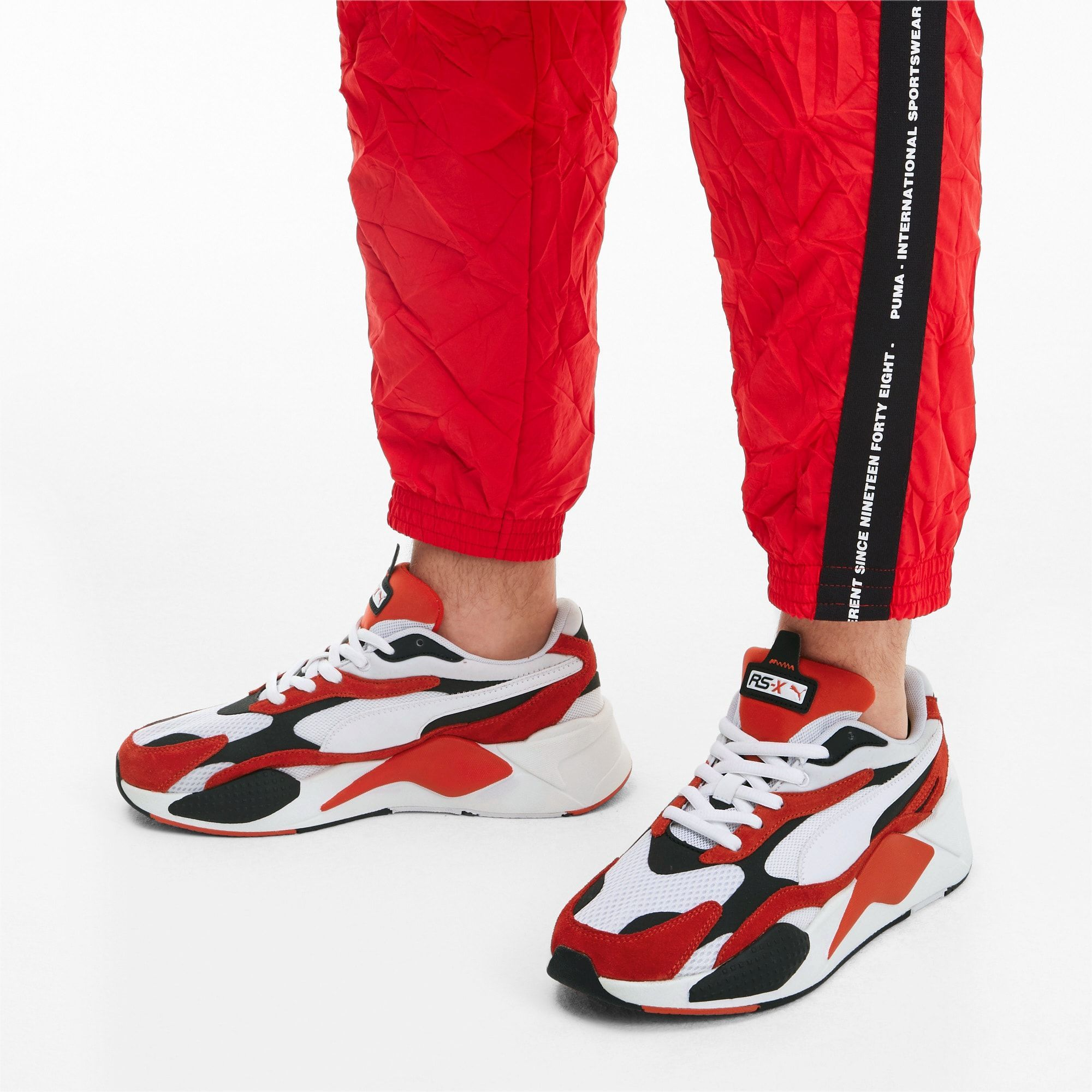 Puma Rs X Super Trainers White High Risk Red Size 10 5 Shoes In 2020 Trainers Puma Low Boots