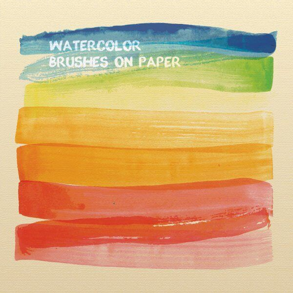 Watercolor Brushes Illustrator Brush Background Watercolor