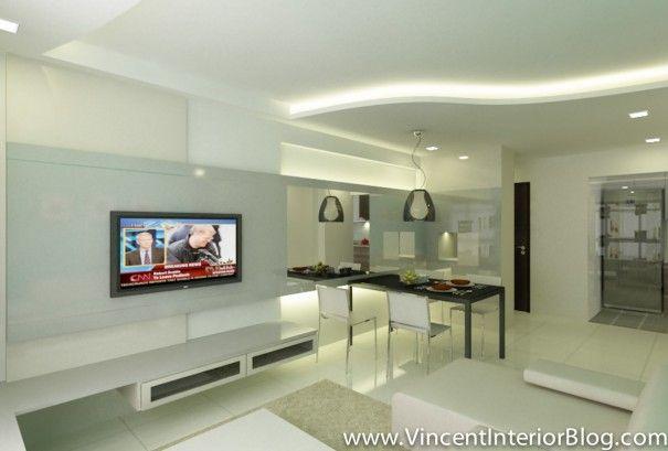 BEhome Design concept Buangkok 4 room HDB-Living 2